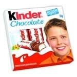 Chocolate Kinder ao Leite com Recheio ao Leite 50g com 4 Barrinhas
