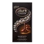 Chocolate Lindt Lindor Extra Dark 60% 100g
