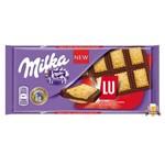 Chocolate Milka LU - Chocolate com Biscoito (87g)