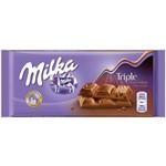 Chocolate Milka Triple Choco Kakao (90g)