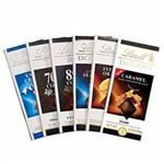 Chocolate Suíço Lindt Excellence - Kit 6 Barras 100g Sortidas