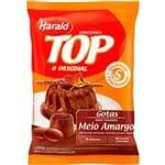 Ficha técnica e caractérísticas do produto Cobertura Chocolate Harald Top Gotas Meio Amargo 1,050Kg