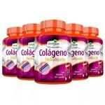Ficha técnica e caractérísticas do produto Colágeno Hidrolisado com Vitamina C - 5x 120 Cápsulas - Katigua