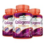 Ficha técnica e caractérísticas do produto Colágeno Hidrolisado com Vitamina C - 3x 120 Cápsulas - Katigua