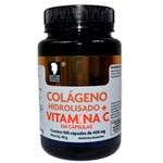 Ficha técnica e caractérísticas do produto Colágeno Hidrolisado + Vitamina C 400mg - 100 Cápsulas