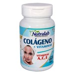Colágeno Hidrolisado + Vitaminas A, C e E 60 Capsulas 750mg