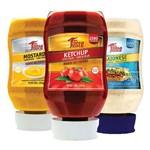 Combo Gourmet - Ketchup + Mostarda + Maionese - Mrs Taste
