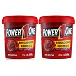 Ficha técnica e caractérísticas do produto Combo Pasta de Amendoim Brigadeiro Proteico - Power One