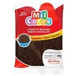 Confeito Miçanga Crocante Mavalério Chocolate 500g