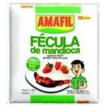 Ficha técnica e caractérísticas do produto Fécula de Mandioca Amafil 1 Kg