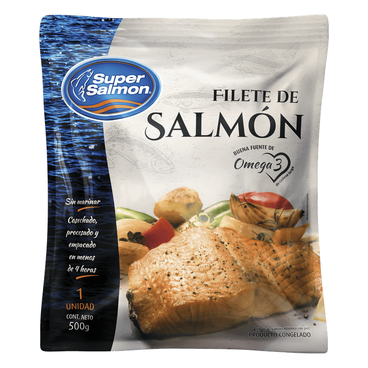 Ficha técnica e caractérísticas do produto Filete de Salmón Congelado 500 G