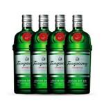 Ficha técnica e caractérísticas do produto Gin Tanqueray 4x 750ml