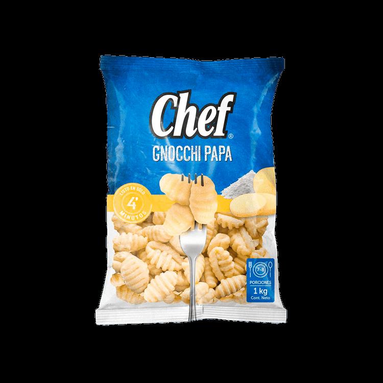 Ficha técnica e caractérísticas do produto Gnocchi de Papa Chef 1 Kg