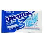 Goma Mentos Pure Fresh Mint 3 com 5 Unidades