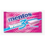 Goma de Mascar Mentos Pure White 3 Sabor Tutti Fresh Sem Açucar 8,5g