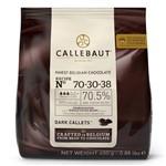 Ficha técnica e caractérísticas do produto Gotas de Chocolate Amargo no 70-30-38 400g - Callebaut