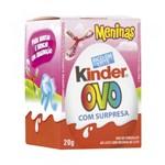 Ficha técnica e caractérísticas do produto Kinder Ovo Menina 20g - Ferrero