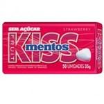 Ficha técnica e caractérísticas do produto Kiss Mentos Morango C/ 50 Unidades