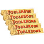 Kit 5 Chocolates Toblerone 100g - Mondelez