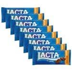 Kit 8 Tabletes ao Leite 90g - Lacta
