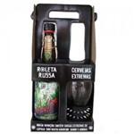 Kit Cerveja Roleta Russa 500 Ml +copo