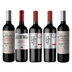 Kit de Vinhos Seleção Terroir 5 Garrafas 750ml