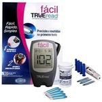Ficha técnica e caractérísticas do produto Kit Medidor de Glicose Fácil Trueread
