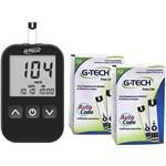 Ficha técnica e caractérísticas do produto Kit Medidor Free Lite + 100 Tiras - G-tech