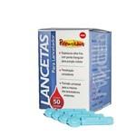 Ficha técnica e caractérísticas do produto Lancetas para Lancetador Premium Lan3050g com 50 Unidades