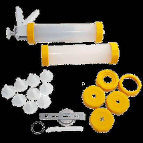 Ficha técnica e caractérísticas do produto Máquina de Churros e Confeitar Anodilar, Amarela - 2566