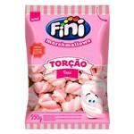 Marshmallow Torção Rosa e Branco Fini 250g