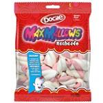 Marshmallow Torção Rosa Recheado 220g - Docile