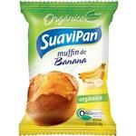 Muffin de Banana 40g Orgânico - Suavipan