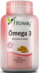 Ficha técnica e caractérísticas do produto Omega 3 30 Capsulas Fitoway