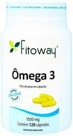Ficha técnica e caractérísticas do produto Omega 3 - 120 Cápsulas, Fitoway