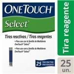One Touch Select Tira Teste 25 Unidades