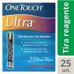One Touch Ultra Tira Teste 25 Unidades