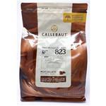 Pacote Chocolate Belga Callebaut 823 2,5kg