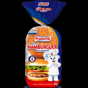 Pão Plus Vita Hambúrguer com Gergelim 200g