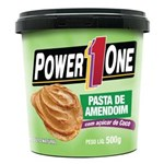 Ficha técnica e caractérísticas do produto Pasta de Amendoim 500G Açúcar de Coco - Power One