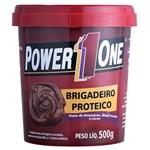 Ficha técnica e caractérísticas do produto Pasta de Amendoim Brigadeiro Proteico - 500g - Power 1 One
