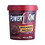 Ficha técnica e caractérísticas do produto Pasta de Amendoim Brigadeiro Proteico (500g) - Power One
