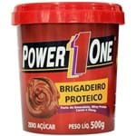 Ficha técnica e caractérísticas do produto Pasta de Amendoim Brigadeiro Proteico 500G - Power One