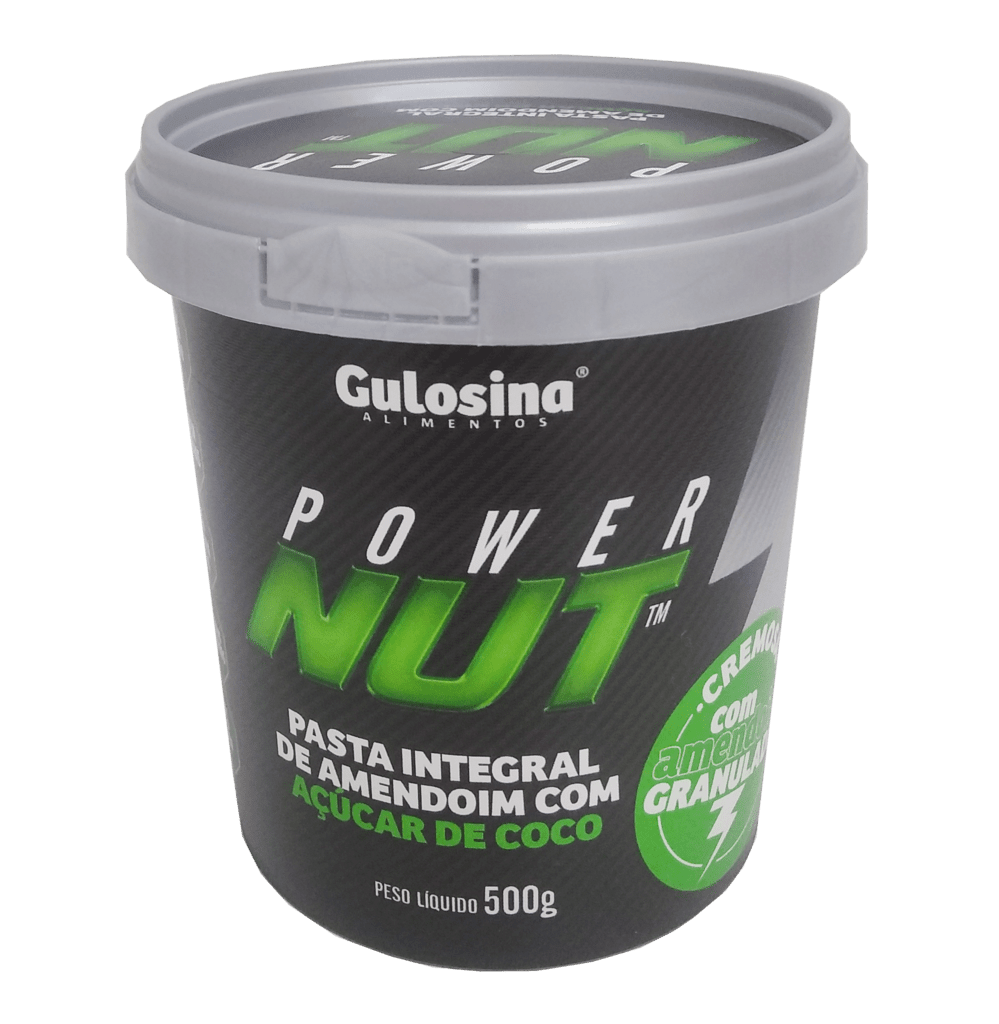 Ficha técnica e caractérísticas do produto Pasta de Amendoim com Açúcar de Coco (500G) Power Nut