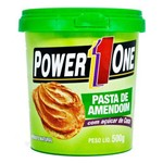 Pasta de Amendoim com Açúcar de Coco 500g Power One