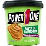 Ficha técnica e caractérísticas do produto Pasta de Amendoim com Açúcar de Côco - Power One Amendoim 500 G
