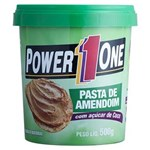 Ficha técnica e caractérísticas do produto Pasta de Amendoim com Açúcar de Coco PowerOne 500g - Amendoim - 500 G