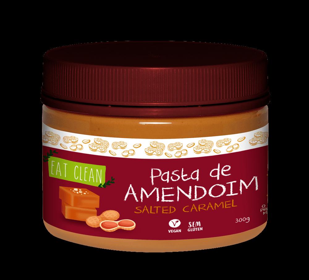 Pasta de Amendoim Salted Caramel 300g - Eat Clean