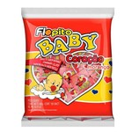 Pirulito Coração Baby Vermelho Morango C/50 - Florestal