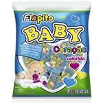 Pirulito Florest Coracao 50x1 Baby Color Caixa C/ 50